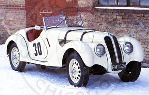 1937 BMW/Frazer-Nash 328 Roadster (ex Lord Howe race car) - Cooper Technica Chicago