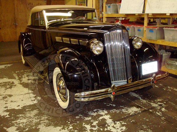1937 Packard 120-C Convertible Coupe