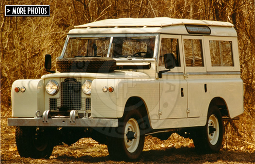 1963 Land Rover 109 Series IIa Station Wagon