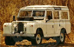 1963 Land Rover 109 Series IIa Station Wagon - Cooper Technica Chicago