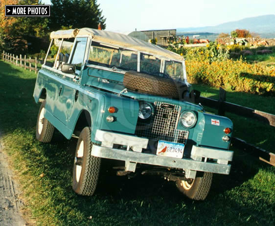 1967 Land Rover 109 Series IIa Military Truck