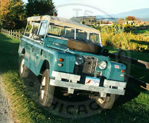 1967 Land Rover 109 Series IIa Military Truck - Cooper Technica Chicago